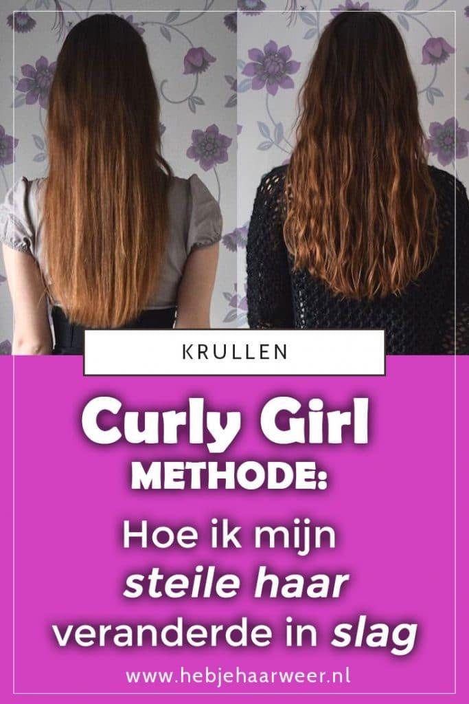 Curly Girl Methode - Hoe ik mijn steile haar veranderde in slag