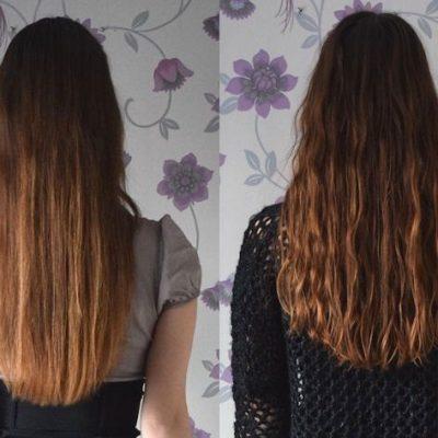Curly Girl Methode - Voor en Na