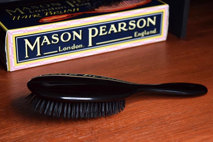 Mason Pearson Boar Bristle Brush Achterkant