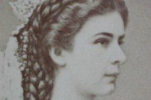Keizerin Elisabeth van Wenen door Emil Rabending 1867