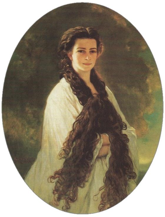 Keizerin Elisabeth van Wenen door Xaver Winterhalter in 1864