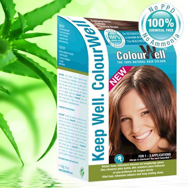 ColourWell Natuurlijke Haarverf Kastanje Bruin