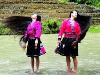 Hoe de Yao vrouwen rijstwater gebruiken voor gezond lang haar