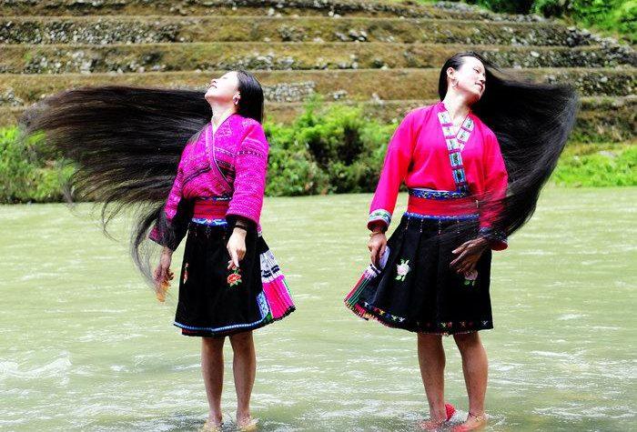 Huangluo: het Chinese lang haar dorp vol echte rapunzels