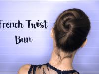 Snelle knot in 1 minuut: zo maak je de French Twist Bun [video]