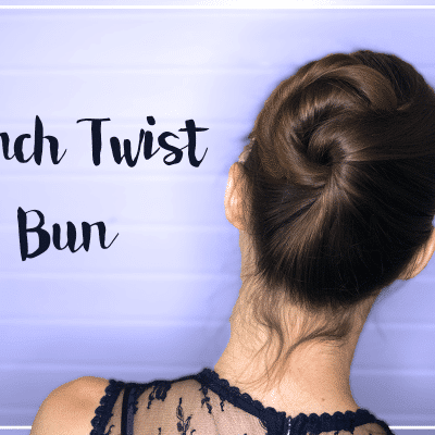 Zo maak je de French Twist Bun! [video-tutorial]