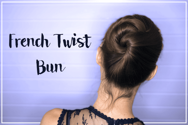 Foto French Twist Bun - Tutorial simpele knot