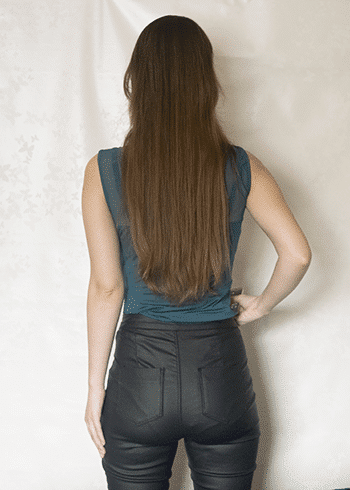 Haar september Kayleigh achterkant