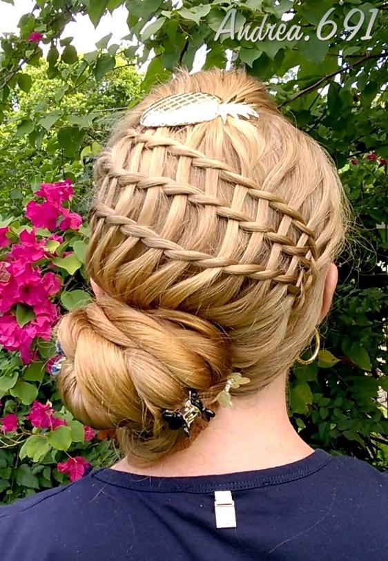 Andrea knot voor extreem lang haar