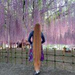 Real-Life Rapunzel Andrea heeft lang haar tot aan haar enkels!