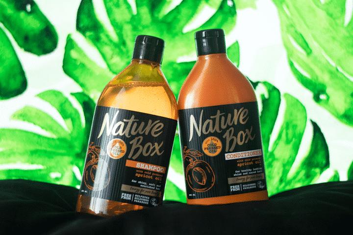 Review van de Nature Box Shampoo en Conditioner - lees het op haarblog Heb je HAAR wéér!