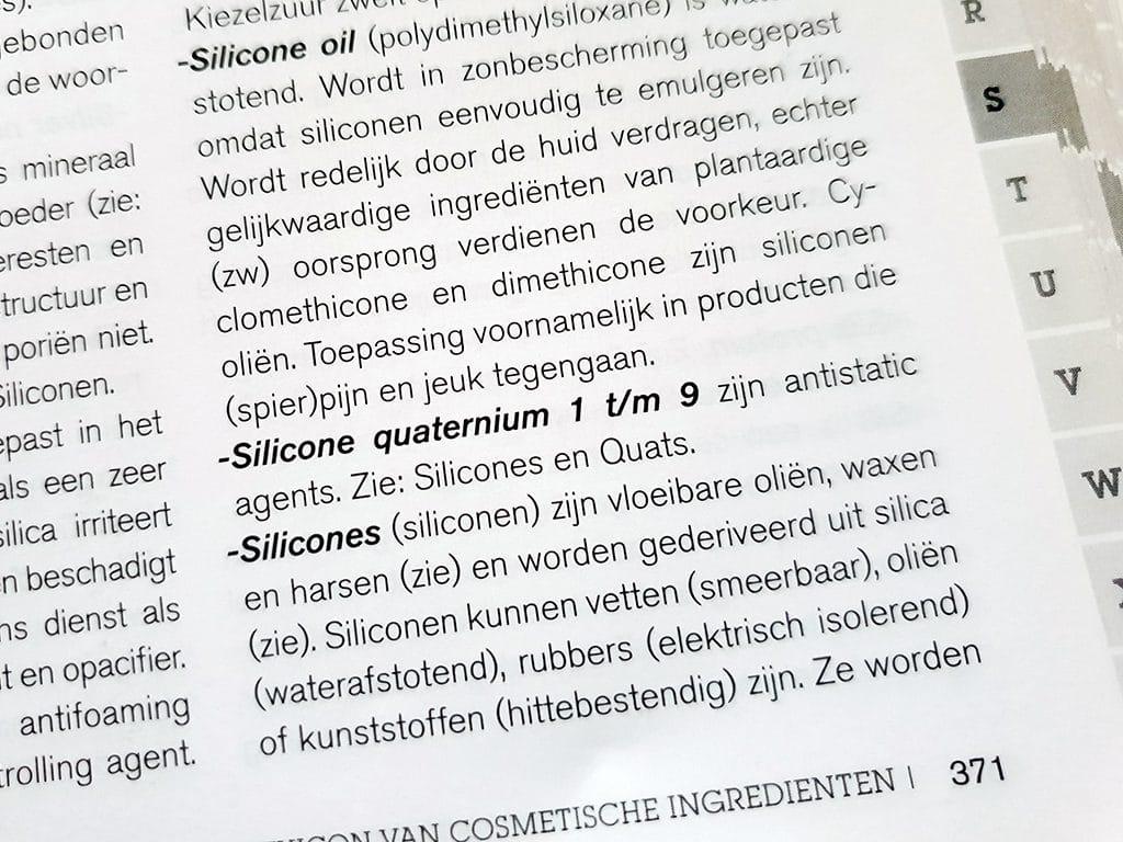 Haarproducten met siliconen zijn zo slecht nog niet
