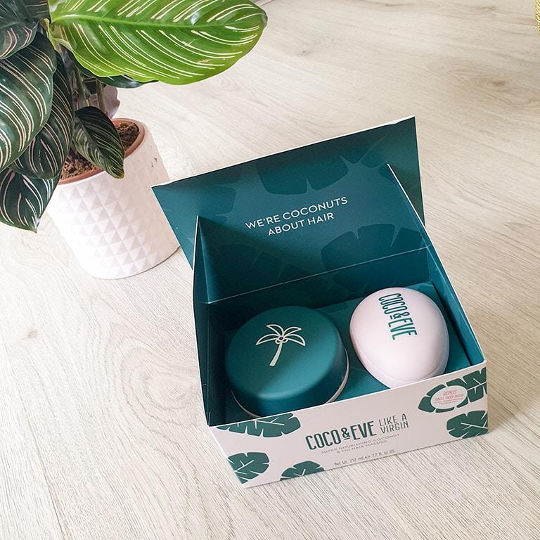 Coco & Eve Haarmasker in verpakking