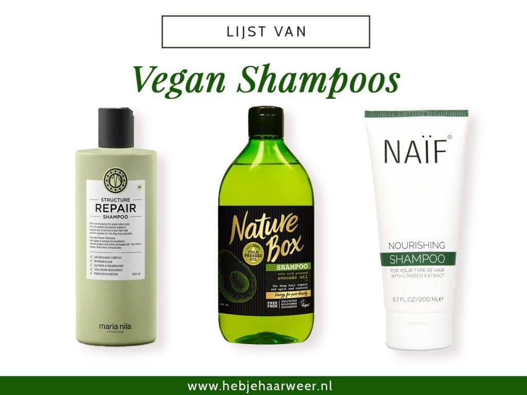 Lijst van Vegan Shampoos 1200x900px