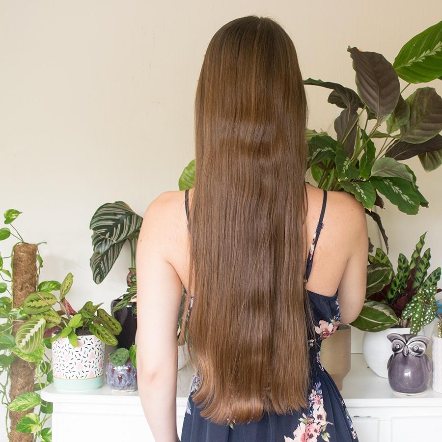 Review: Haar na het gebruiken van L'Anza's Healing Remedy Scalp shampoo conditioner en treatment