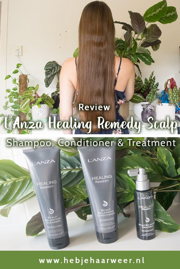 Review L'Anza Healing Remedy Scalp Cleanser, Conditioner en Treatment