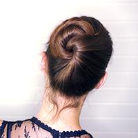 Leer vlechten en knotten maken en leer lang haar op te steken