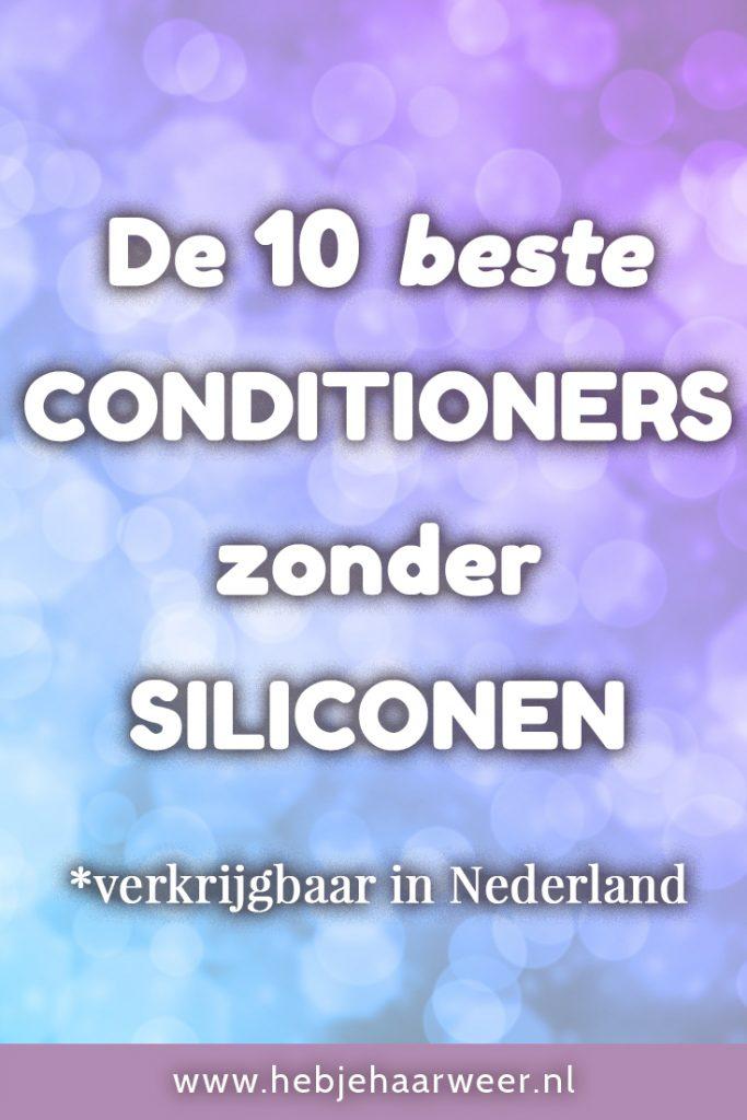 Ben je op zoek naar een goede siliconenvrije conditioner, maar zie je door de bomen het bos niet meer? Ik help je op weg. Ik tip je de 10 beste conditioners zonder siliconen. En guess what? Ze zijn allemaal gewoon verkrijgbaar in Nederland!