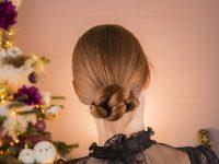 Hoe maak je een elegante knot voor lang haar in een minuut? – Loop Through Knot