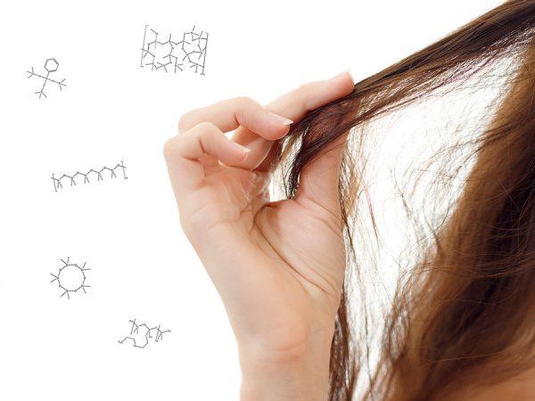 Soorten siliconen in haarproducten