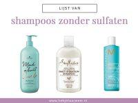 Lijst van milde shampoos zonder sulfaten [2021]