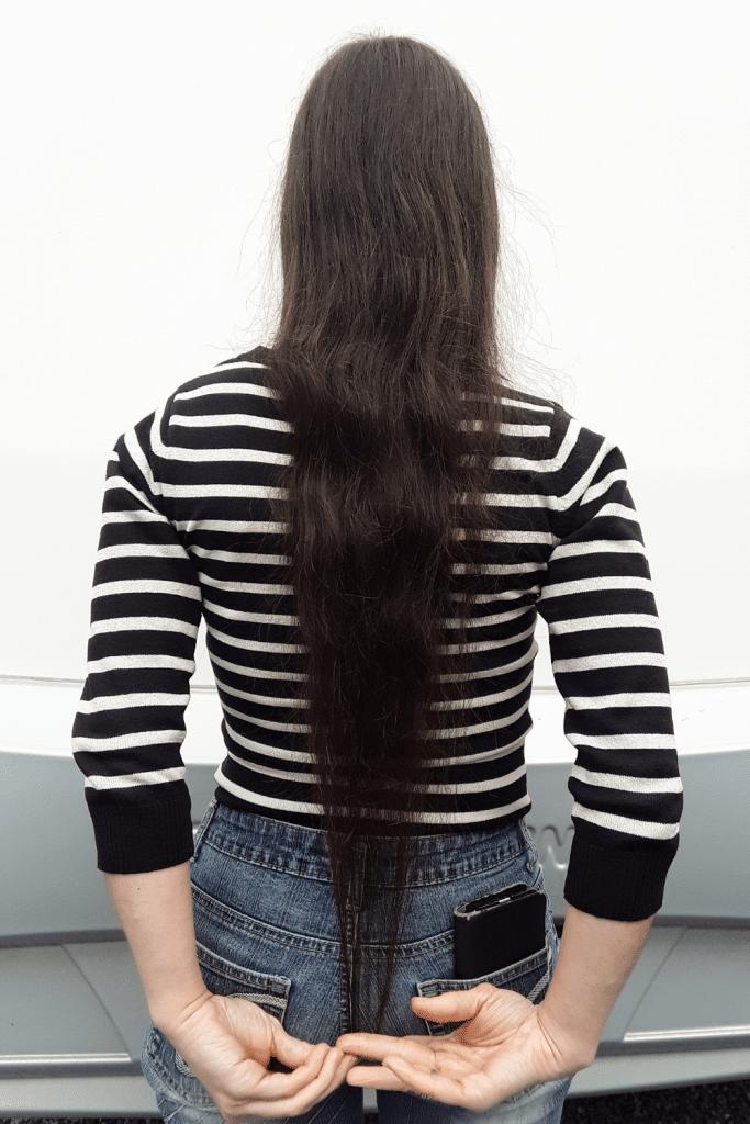 Diana - vrouw met lang haar