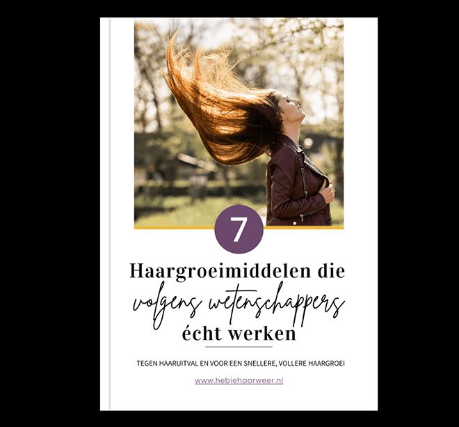 7 haargroeimiddelen - ebook