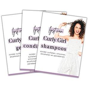 Curly Girl Producten Lijstjes
