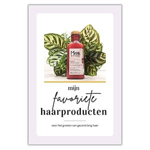 Favoriete producten voor lang haar
